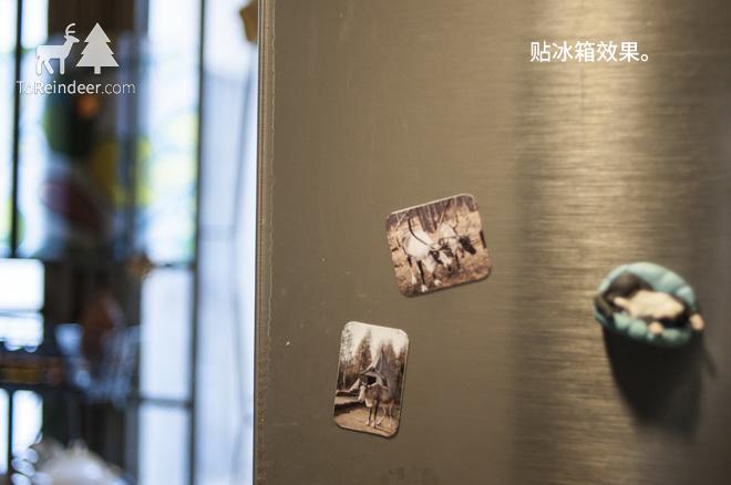 驯鹿森林小玩意{小玩意1#}驯鹿冰箱贴的图片 第4张