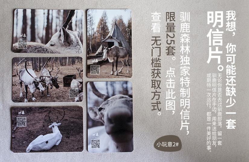 驯鹿森林小玩意{小玩意1#}驯鹿冰箱贴的图片 第7张