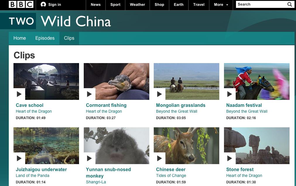 驯鹿森林电影/纪录片/舞台剧bbc{纪录片12#}BBC纪录片Wild China的图片 第3张