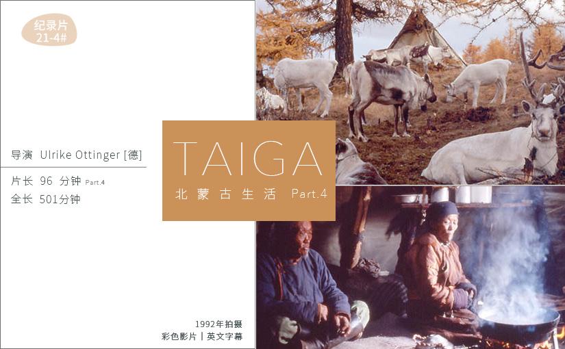 驯鹿森林电影/纪录片/舞台剧darkhad{纪录片21-4#} TAIGA 北蒙古生活 Ⅳ的图片 第1张
