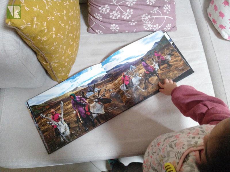 驯鹿森林书籍Tsaatan{书影12#}看见另一种童年的图片 第3张