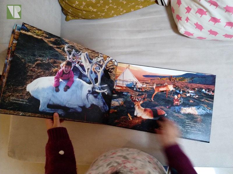 驯鹿森林书籍Tsaatan{书影12#}看见另一种童年的图片 第6张